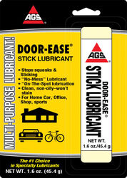 AGS  Door-Ease  Stick Lubricant  1.6 oz. Carded