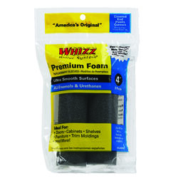 Whizz  Foam  1/2 in.  x 4 in. W Mini  Paint Roller Cover  2 pk