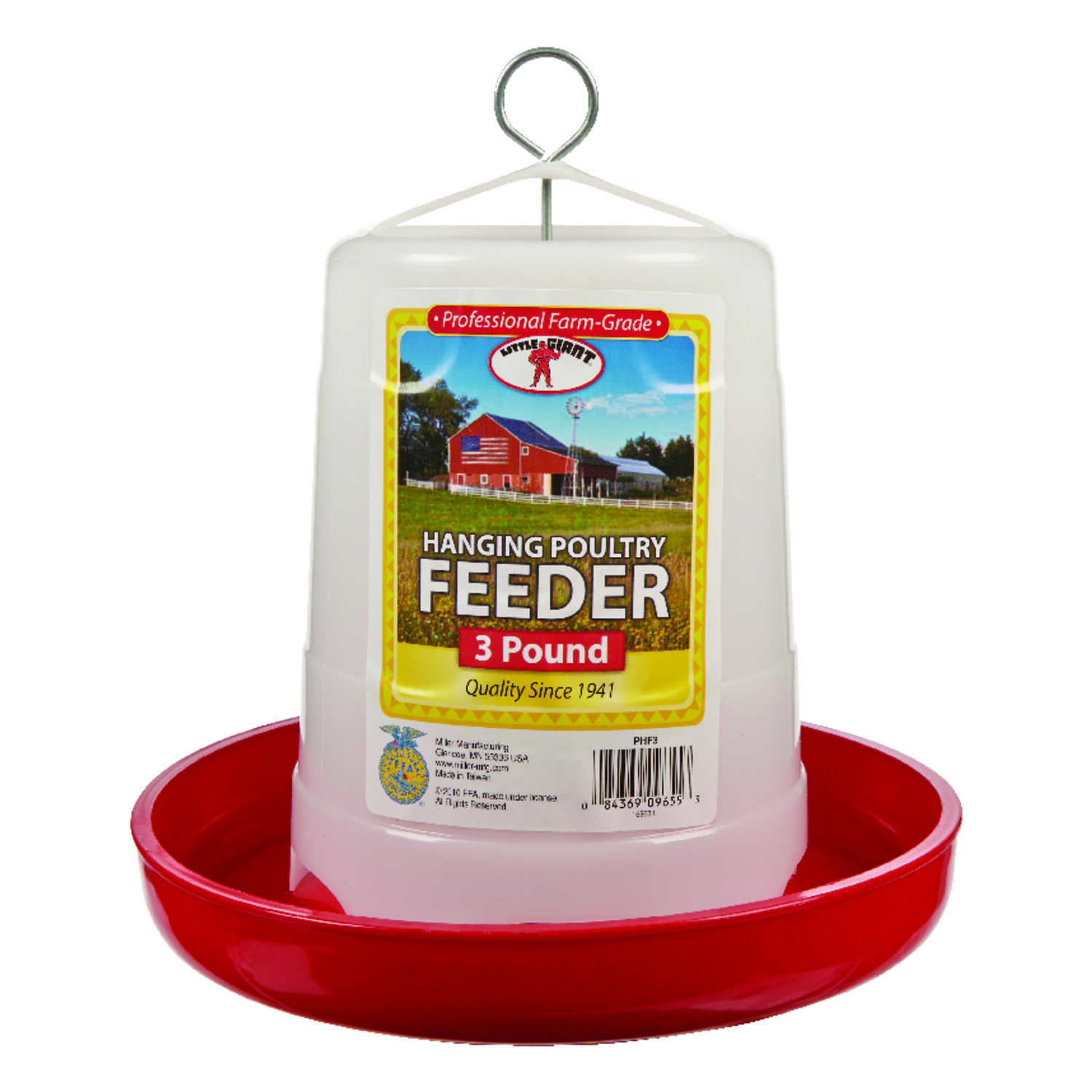 Little Giant  48 oz. Feeder  For Poultry