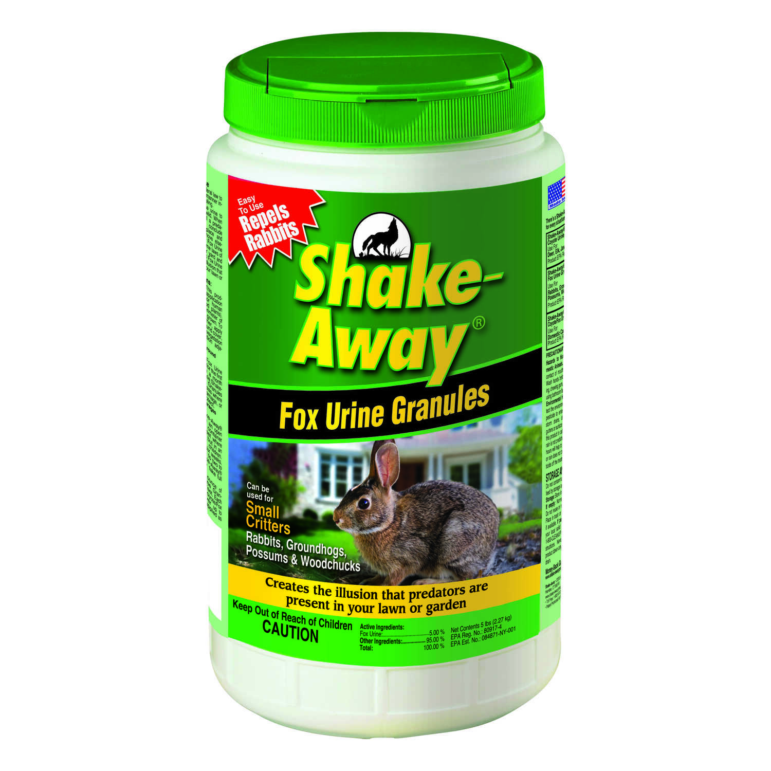 Shake-Away  Animal Repellent  Granules  For Small Critters 5 lb.
