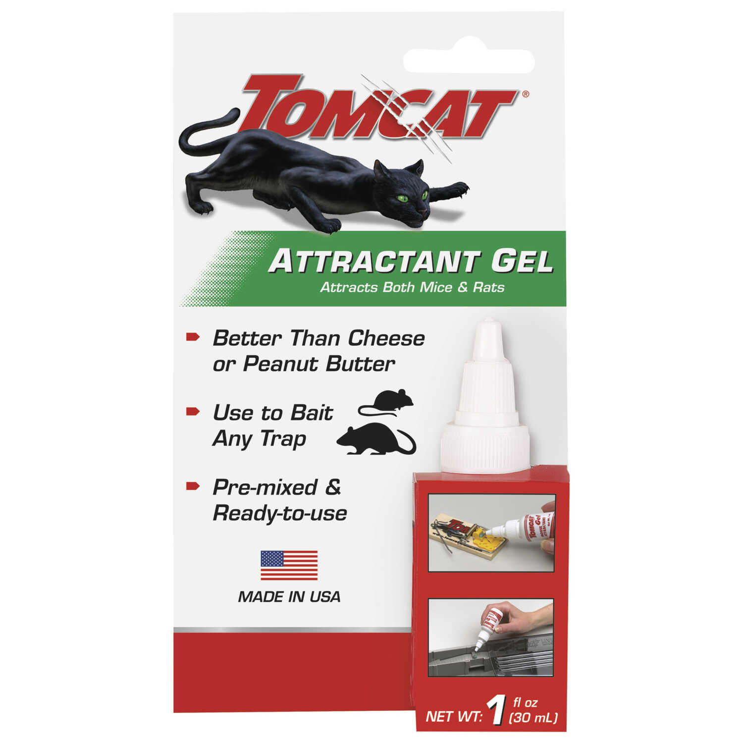 Tomcat  Small  Gel and Snap  Animal Trap  For Mice 1 pk