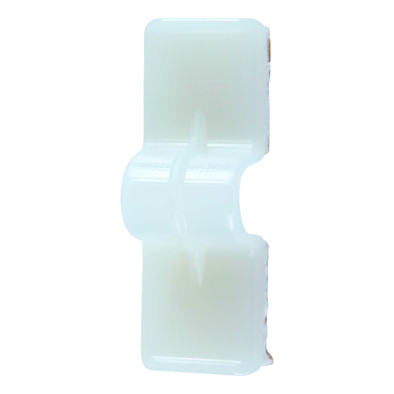 Jandorf  1/4 in. Dia. x 1.38 in. L Natural  Nylon  Cable Clip