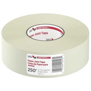 Sheetrock  250 ft. L x 2-1/16 in. W White  Joint Tape  Paper