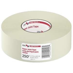 Sheetrock  250 ft. L Paper  Joint Tape  White