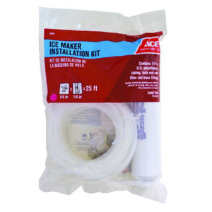 Ace  1/4 in. Dia. PVC  Ice Maker/Water Line Installation Kit