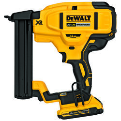 DeWalt  XR  18 Ga. Cordless  Tacker  Kit 20 volt