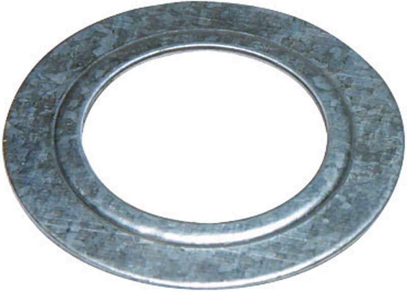Sigma Electric ProConnex  1 to 1/2 in. Dia. Zinc-Plated Steel  Reducing Washer  For Rigid/IMC 2 pk