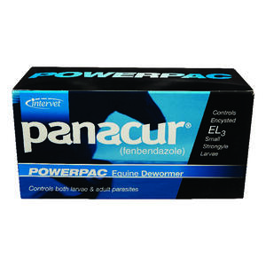 Panacur Powerpac  Liquid  De-Wormer  For Horse 2 oz.