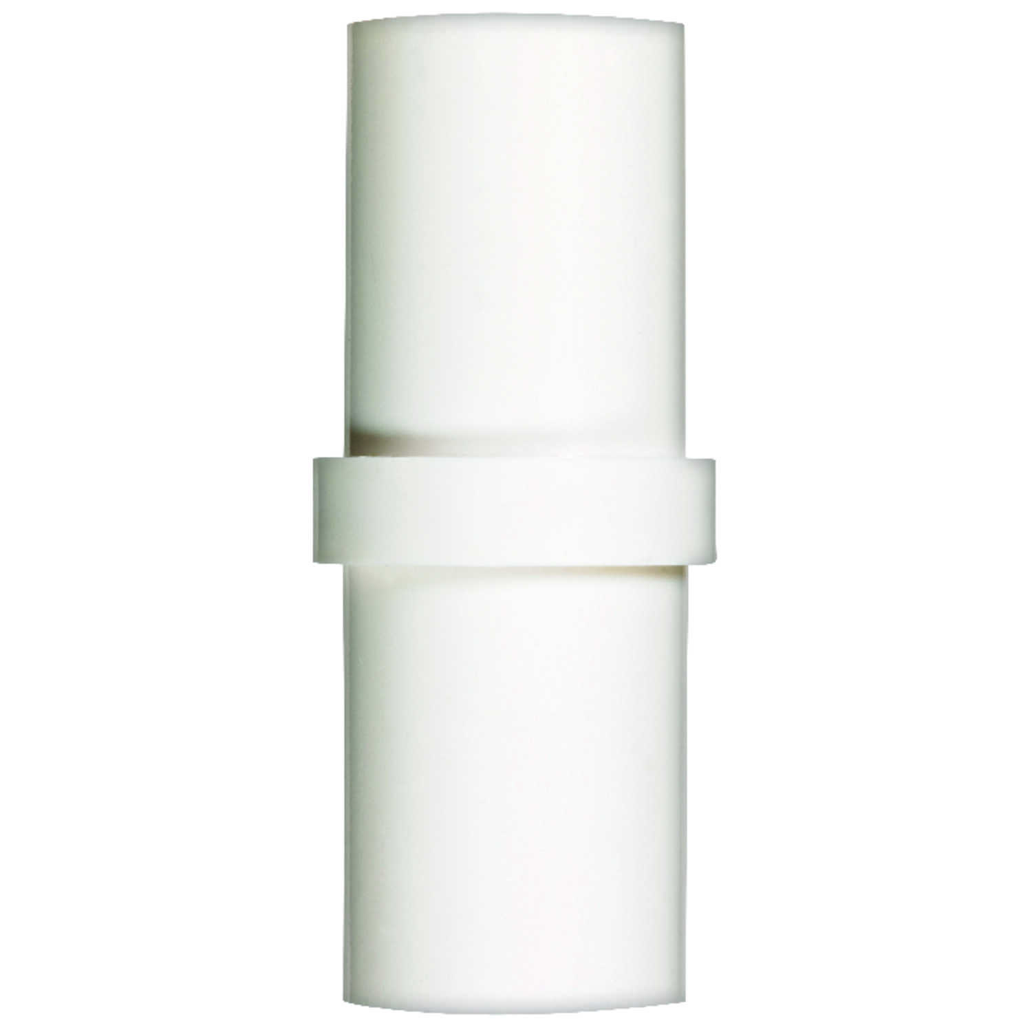 Campbell  PVC  Slip Coupling  1-1/2 in.  x 5 in. L