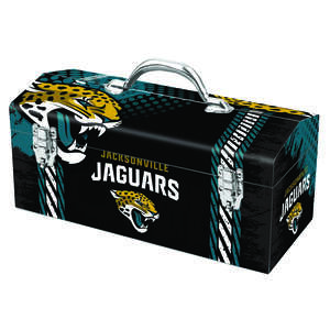 Sainty International  Jacksonville Jaguars  16.25 in. Steel  Jacksonville Jaguars  7.1 in. W x 7.75