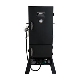 Masterbuilt  Sportsman Elite 30 in.  Liquid Propane  Freestanding  Smoker  Black  1