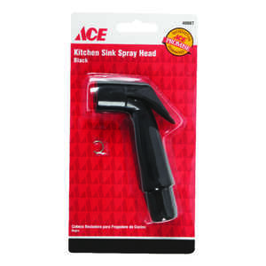 Ace  Black  Other  Plastic  Sink Spray Head