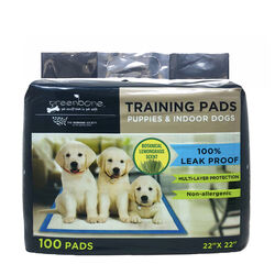 Humane Society Plastic Disposable Pet Waste Pads 100 pk