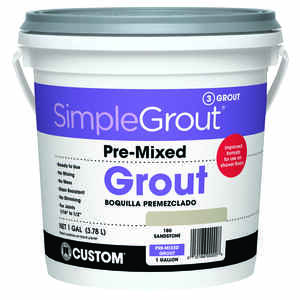 Custom Building Products  SimpleGrout  Indoor  Sandstone  Grout  1 gal.