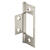 Prime-Line 3 in. L Satin Nickel Bi-fold Door Hinge 2 pk