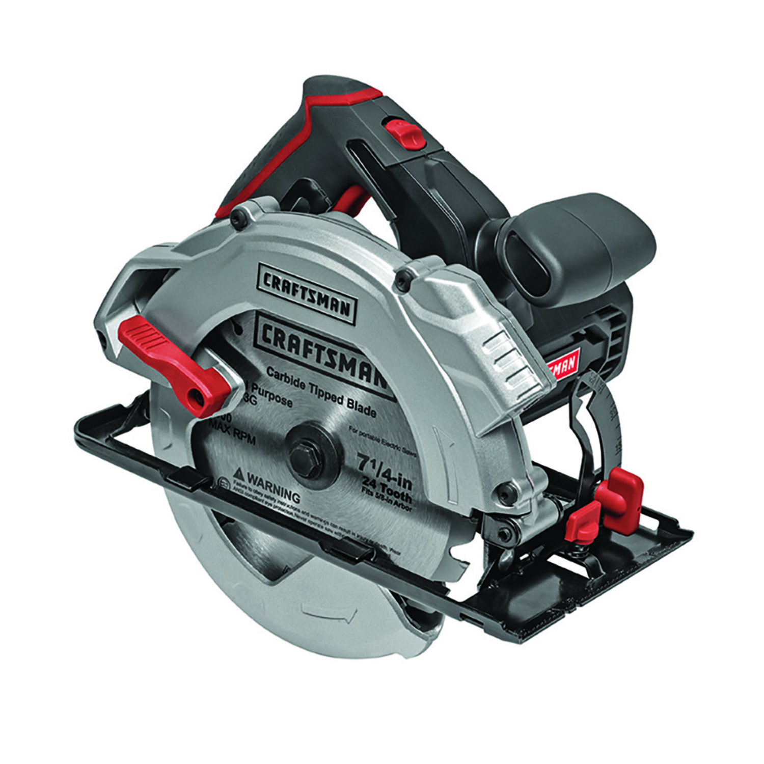 Craftsman 7 14 in 13 amps circular saw 5500 rpm corded ace hardware craftsman 7 14 in 13 amps circular saw 5500 rpm corded greentooth Images