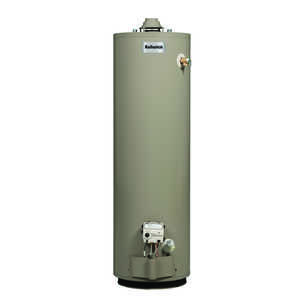 Reliance  Natural Gas  Water Heater  51-1/2 in. H x 22 in. W x 22 in. L 40 gal.