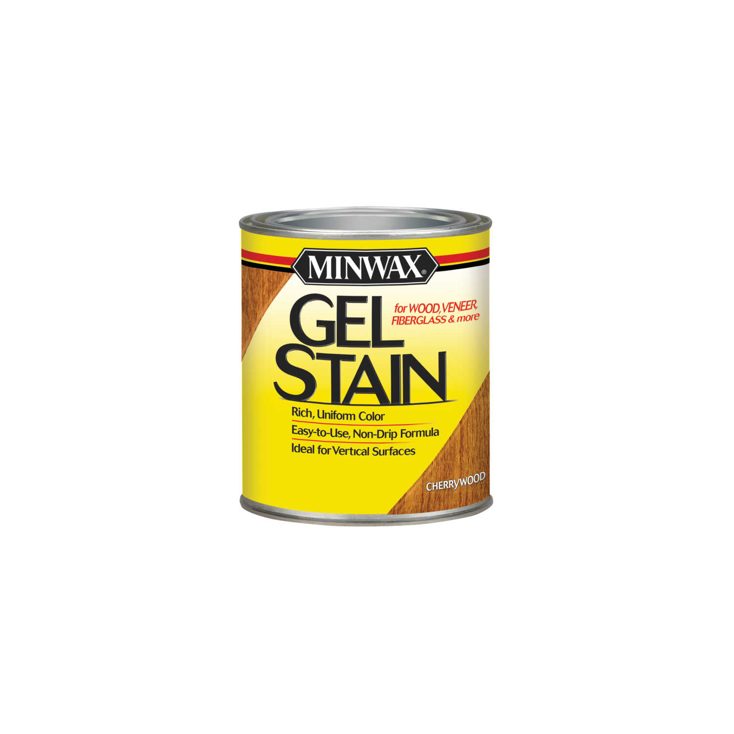 Minwax  Transparent  Low Luster  Cherrywood  Oil-Based  Gel Stain  0.5 pt.