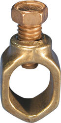 Erico  1/2 in. Copper  Ground Clamp  1 pk
