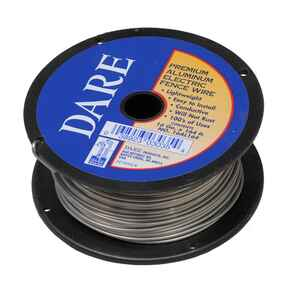 Dare Products  Electric Fence Wire  Silver