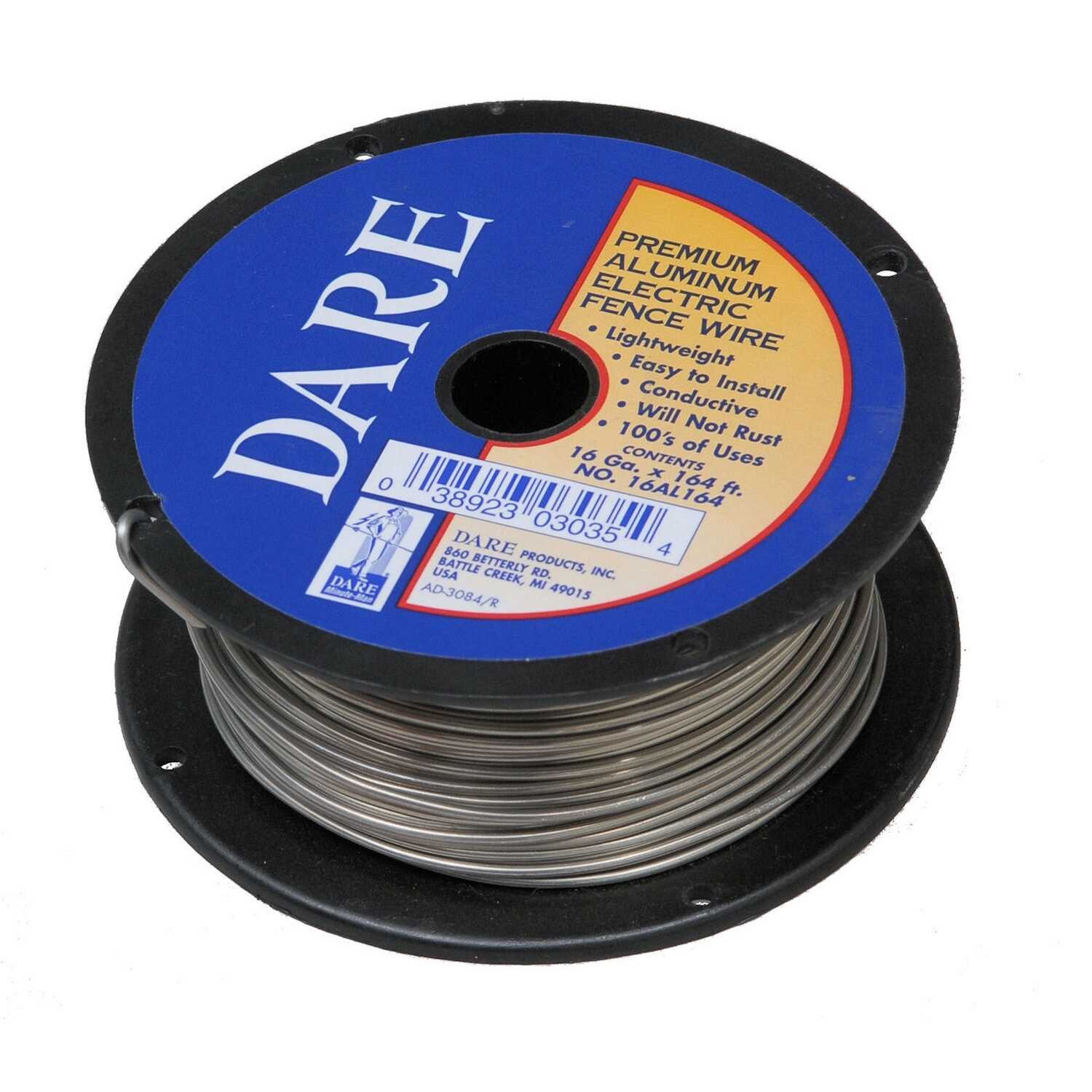 Dare Products Premium Electric Fence Wire Silver Ace Hardware