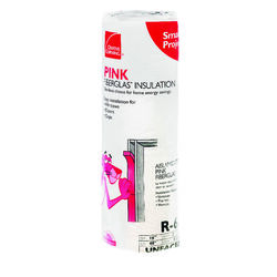 Owens Corning  Fiberglas  16 in. W x 48 in. L 6.7  Unfaced  Fiberglass  Insulation  Roll  5.33 sq. f