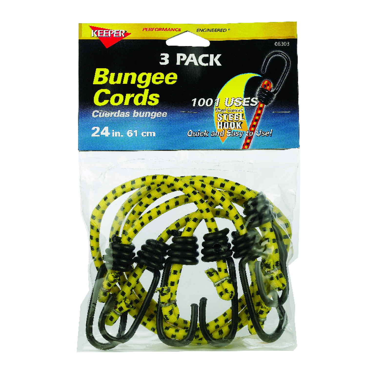Hand Cart 48 inches, Black Heavy Stretchy Luggage Rope for Securing Home Stuff on Rack 3//8-inch Bungee Cords with Hooks Bikes