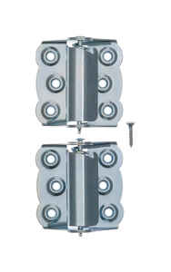 Ace  2-3/4 in. L Zinc-Plated  Zinc  Screen/Storm Self Closing Hinge  2 pk
