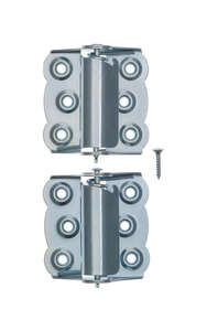 Ace  2-3/4 in. L Zinc  Screen/Storm Self Closing Hinge  2  Zinc-Plated