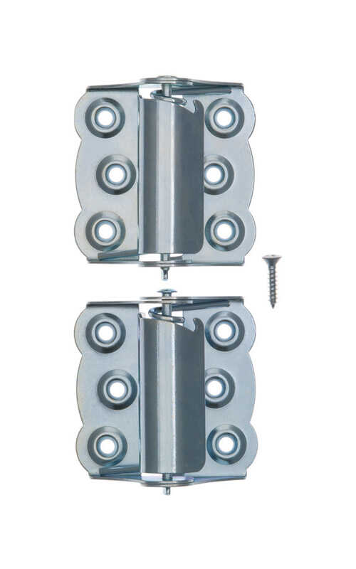 Ace 2 3 4 In L Zinc Plated Screen Storm Self Closing