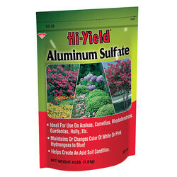 Hi-Yield  Aluminum Sulfate  533 sq. ft. 4 lb.
