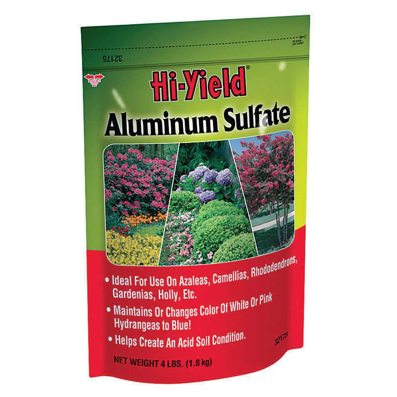 Hi-Yield  Aluminum Sulphate  533 sq. ft. 4 lb.