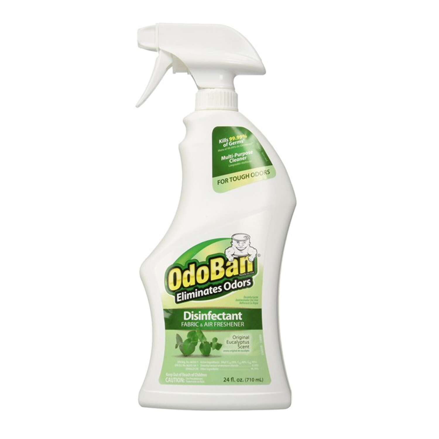 Odoban Eucalyptus Scent Mold and Mildew Odor Eliminator 32 oz. Liquid