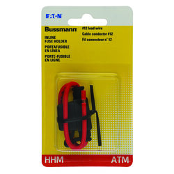 Bussmann  30 amps ATM  Fuse Holder with Cover  1 pk