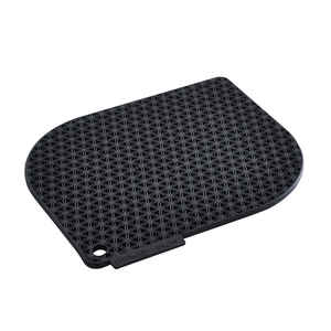 Charles Viancin  Honeycomb  Black  Silicone  Pot Holder  1 pk
