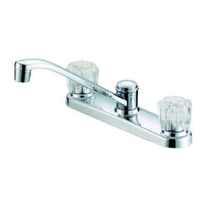 OakBrook  Anabelle  Two Handle  Chrome  Kitchen Faucet