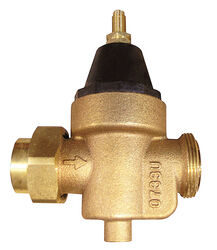 Watts  3/4 in. Female Solder Union  Bronze  Water Pressure Reducing Valve  3/4 in. Double Union  1 p