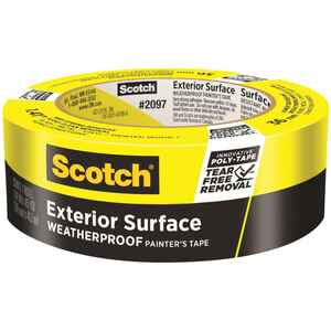 3M  Scotch Blue  1.41 in. W x 45 yd. L Yellow  High Strength  Painter's Tape  1 pk