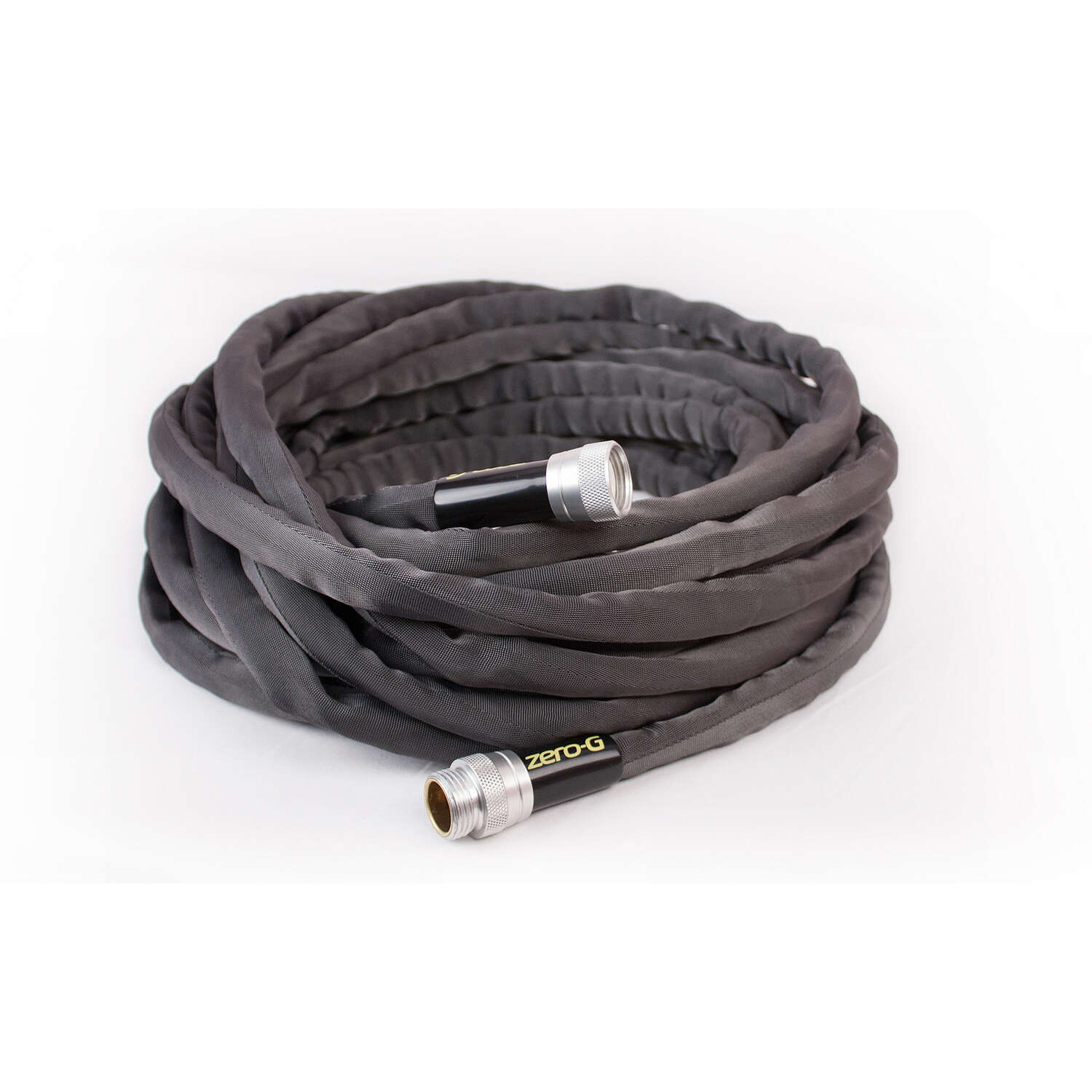 Zero-G  5/8 in. Dia. x 50 ft. L Black  Garden Hose