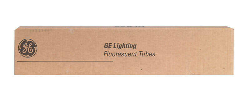 GE Lighting  15 watts T8  18 in. Warm White  Fluorescent Bulb  510 lumens Linear  1 pk