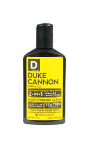 Duke Cannon  Mint Scent Shampoo Plus Conditioner  10 oz. 1 pk