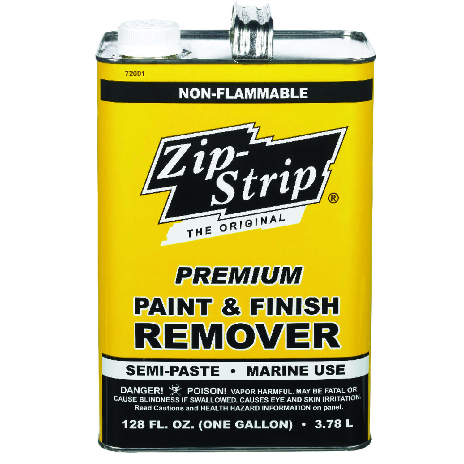 Zip-Strip  Premium Paint and Finish  Professional Strength Paint Remover  128 oz.
