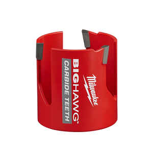 Milwaukee  BIG HAWG  2-3/4 in. Dia. x 2.44 in. L Carbide Tipped  3 Tooth  Hole Saw  7/16 in. 1 pc.