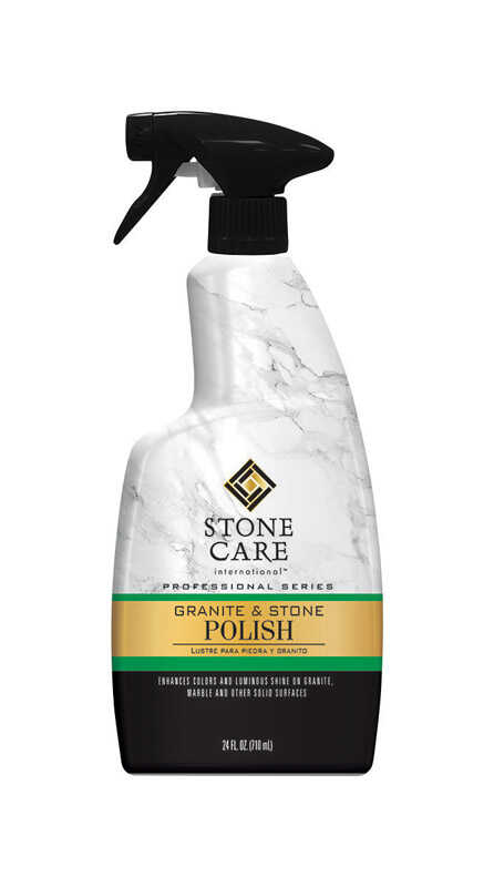 Stone Care  No Scent Granite and Stone Polish  24 oz. Liquid