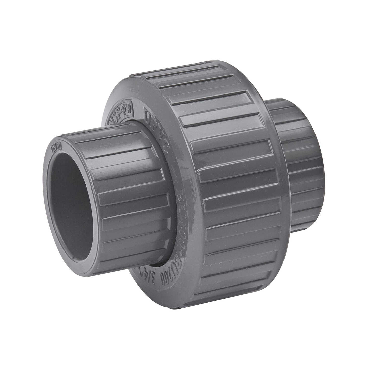 B & K  ProLine  Schedule 80  3/4 in. Socket   x 3/4 in. Dia. Socket  PVC  Union