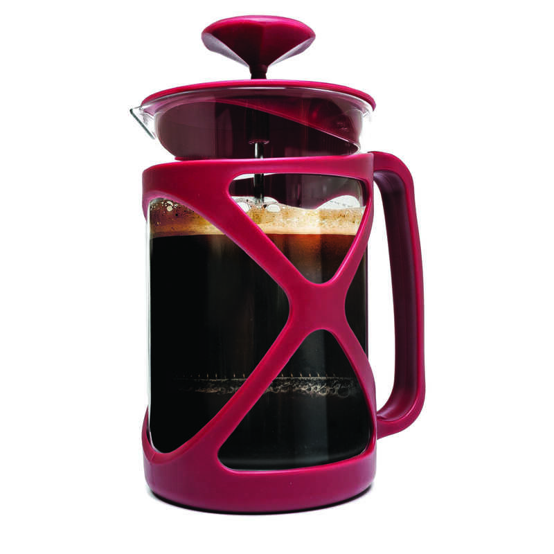 Primula  Cafe Color Tempo  6 cups Red  French Press