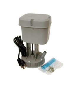 Dial  2-3/8 in. H x 3-1/4 in. W Plastic  Gray  Evaporative Cooler Pump