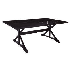 Living Accents  Rectangular  Brown  Table