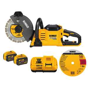 DeWalt  Flexvolt  9 in. Cordless  Cut-Off Saw  Kit  6600 rpm