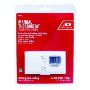 Ace  Heating and Cooling  Lever  Programmable Thermostat